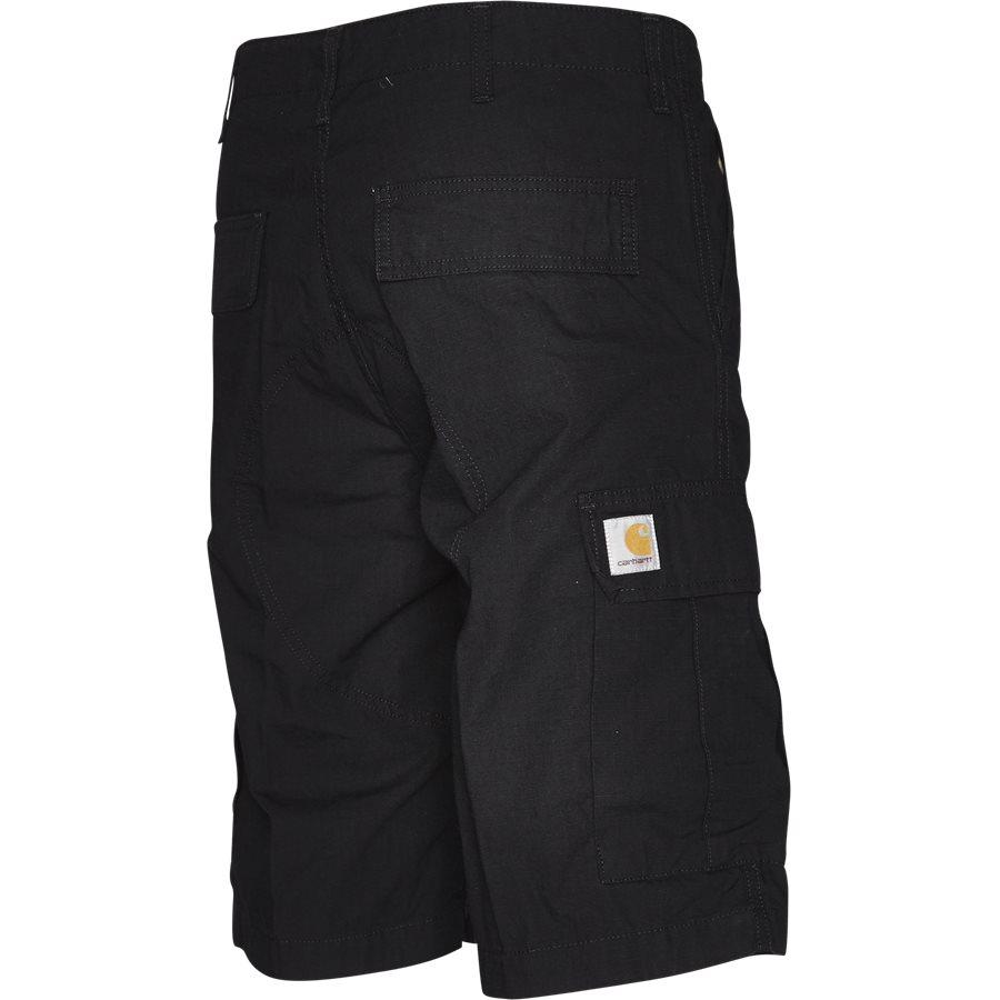 REGULAR CARGO SHORT I015999 - Regular Cargo Shorts - Shorts - Regular - BLACK RINSED - 3